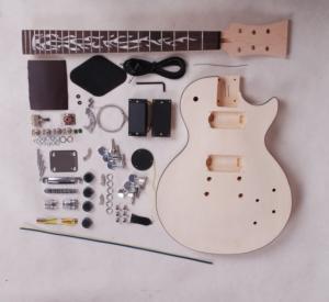 Quality DIY Les Paul Style Electric Guitar Kits / Unfinished LP Electric Guitar Set AG-LP2 for sale