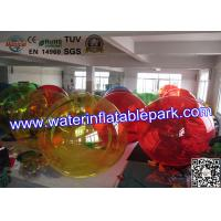 Quality Party Rental Crazy Inflatable Water Ball , Inflatable Hamster Ball For Entertainment for sale