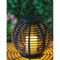 Quality Plastic Material Solar Garden Lights , Solar Outdoor Lighting With Natural Looking for sale