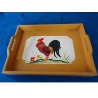 China wooden food trays, hotel serving trays, MDFtrays on sale
