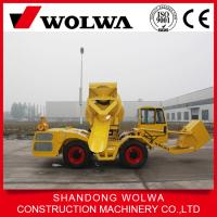 China hot sale mobile concrete mixer truck composition from wolwa direct factory on sale