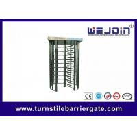 Quality Digital Double Direction Full Height Turnstile / Automatic Systems Turnstiles for sale