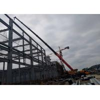 Fashionable Steel Frame Warehouse Construction With Long Using Lifespan