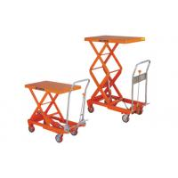 Quality Color Customized Hydraulic Table Lift , Mobile Scissor Lift Table For Insulating for sale