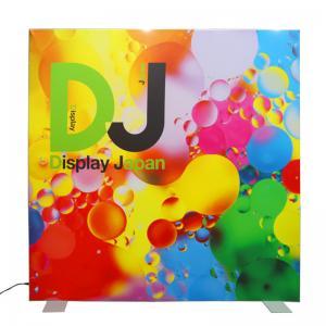 Quality Double Side Frameless SEG Light Box , LED Backdrop Fabric Light Box for sale
