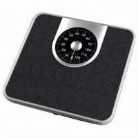 Quality 130kg/1kg Mechanical Spring Dial Bathroom/Analog Scale with Anti-skidding Surface for sale