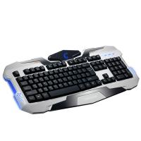 Buy Waterproof membrane keyboard for gaming , blue led mechanical gaming keyboard at wholesale prices