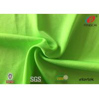 Quality elastic waterproof and dry - fit nylon spandex fabric for yoga cloth for sale