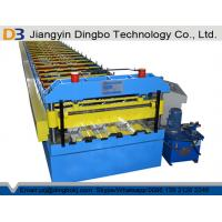 Buy cheap Customized Floor Deck Roll Forming Machine With German Quality from wholesalers