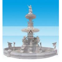 Quality Big Garden Marble Water Fountains for sale
