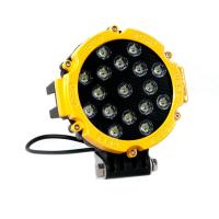 Quality 51 Watt Round Led Flood Lights Outdoor High Power 10-30V DC 6000K for sale