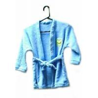 Quality 100% Polyester Coral Child Bathrobe (LYB-007) for sale