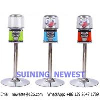 Buy Guangzhou China Coin Operated Gumball Capsule Toy Vending Game Machine at wholesale prices