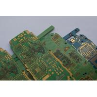 Quality 10 Layer Multilayer Phone PCB Fabrication Immersion Gold , Custom Printed Circuit Boards for sale
