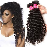 Quality 11A Human Hair Brazilian Virgin Human Hair Extensions ,  Jet Black 28 Inch Hair Extensions for sale