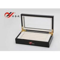 Quality Jewellery Storage Wooden Jewellery Box  Flannelette Inside With Cover for sale