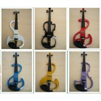 Quality White / Black Electric Violins for sale