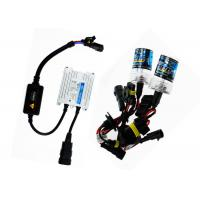 Quality COB LED DRL Bi Xenon Hid Motorcycle Headlight Kits Plug And Play Waterproof for sale
