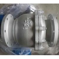 Quality DIN 2pc Floating Type Stainless Steel Ball Valve With ISO5211 Direct Flange End Cf8m for sale