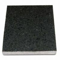 Mongolia Black Granite Tiles for Vanity Top/Bathroom Sink, ±1 to 1.5mm Thickness Tolerance