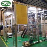 Quality Aluminum Frame Acrylic Wall Portable Clean Booth Room For Indonisia Package Industry for sale