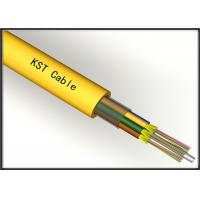 Quality FRP Fiber Optic Single Mode Cable Ethernet Fiber Optic Cable For Networking for sale