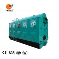 Quality Low Pressure Wood Pellet Steam Boiler For Textile Industry 0.7 -2.5 Mpa for sale
