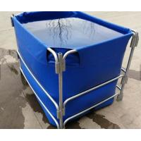 Quality 1500L High Opacity Removable Fish Pond , Plastic Ponds For Fish Farming for sale