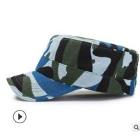 China 100% Cotton Military Camouflage Cap , Army Military Hats 57CM Size on sale