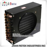 Quality Refrigeration Air Cooler Copper Tube Condenser for sale