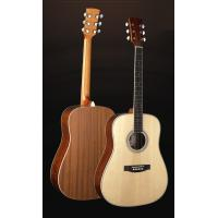Quality 41 inch Classic Spruce Western Guitar / Vintage Solid wood Acoustic Guitar For Learners TP-AG52 for sale