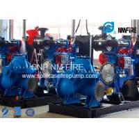 Quality Diesel Engine Driven Emergency Fire Pump With 20-1227Kw Power NFPA20 Approved for sale