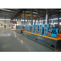 Buy cheap 21 - 63mm Diameter ERW Pipe Mill / Stainless Steel Tube Mill from wholesalers