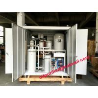 Buy Vacuum Gear Oil Cleaning Machine, Gear Oil Purifier Machine , Hydraulic oil recycling plant, Lube Oil Separator System at wholesale prices