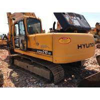 China Hyundai R210-5D Used Excavator Machine 125Kw Power 2008 Year Yellow Color on sale
