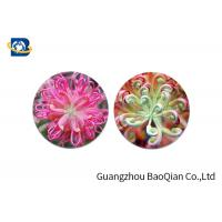 Quality Home Decoration 3D Lenticular Coasters Cup Placemat Beautiful Flower Pattern for sale