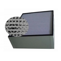 Quality Aluminum Frame H13 HEPA Air Filter For Purification System for sale