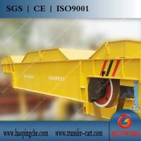 Quality 50t AC motor drive cable reel powered dump trailer for sale