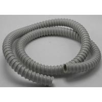 Quality PVC Reinforced Corrugated Flexible Tubing Protective Sleeve Hose For Fiber Cable for sale