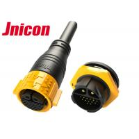 Quality 22 Pin Waterproof Male Female Connector Outdoor Circular Shape IP67 for sale