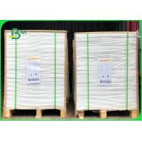 Quality Size 600mm Smoothness No Spots 60gsm Exercise Book Paper In Reels / Reams for sale