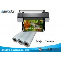 Quality 360gsm Eco Solvent Matte Printable Cotton Inkjet Printing Plotter Photo Canvas for sale