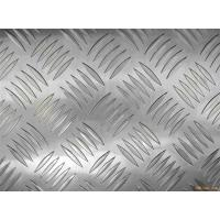 Quality Decorative flooring / table / tank 3003 Checkered Aluminum Sheets Mill Finished Surface for sale