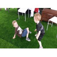Quality 22mm Natural Looking Artificial Grass S Shape 17890 Tufts / Sqm UV Resistant for sale