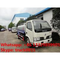 Quality cheapest price high quality dongfeng RHD 95hp water sprinkling truck for sale, factory sale best price water carrier for sale