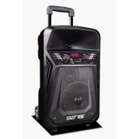 Buy Lithium Battery Rechargeable Trolley Speaker With Wireless Microphone / at wholesale prices