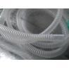 Respiratory Tube Plastic Flexible Hose , Flexible Corrugated Plastic Tubing for sale