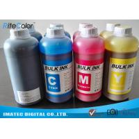 Quality DX4 Printheads Odorless Eco Solvent Inks Outdoor Signage Display Printing for sale