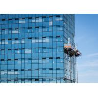 Buy cheap Siemens Inverter FC Mast Climbing Work Max 32.2m Length Platforms for Material Loading from wholesalers