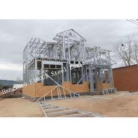 Quality Galvanized Surface Lightweight Steel Pre-Engineered Building Villa For Residence for sale